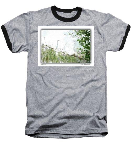 Lake Crane Baseball T-Shirt