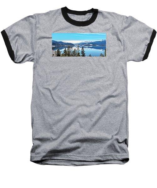 Baseball T-Shirt featuring the photograph Lake Dillon Colorado by Stephen  Johnson