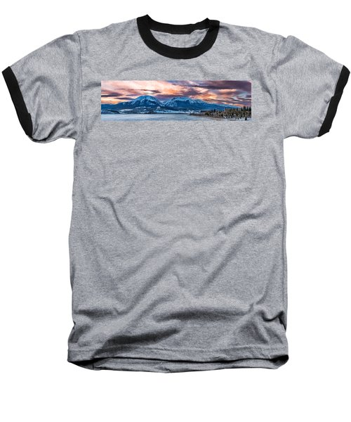 Baseball T-Shirt featuring the photograph Lake Dillon by Sebastian Musial