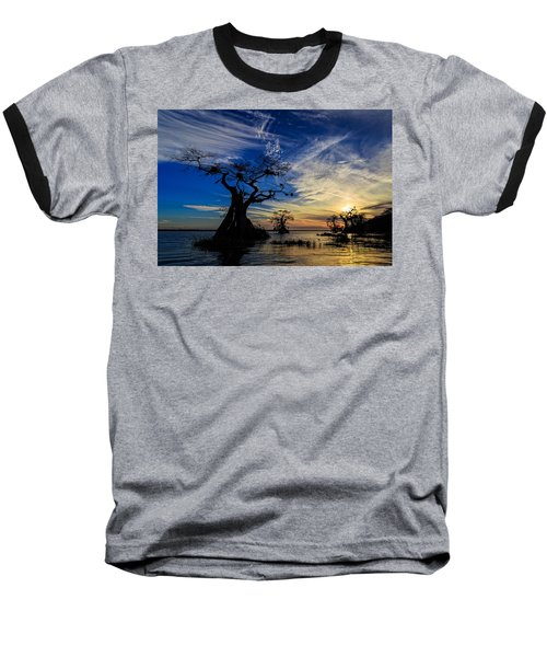 Lake Disston Sunset Baseball T-Shirt