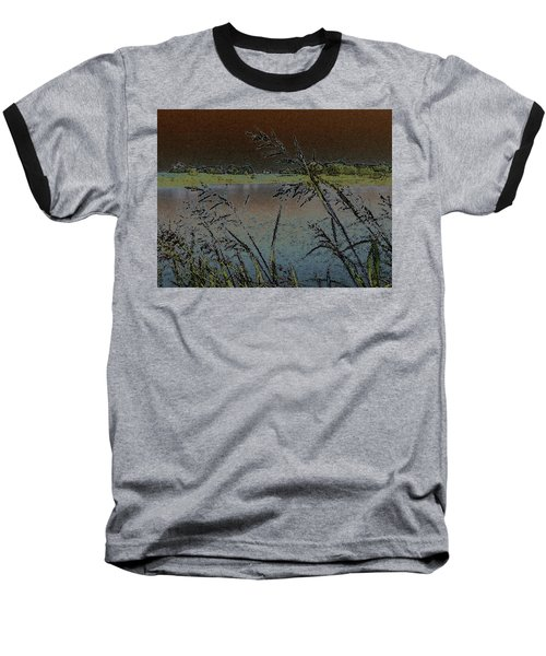 Baseball T-Shirt featuring the photograph Lake  by Donna G Smith