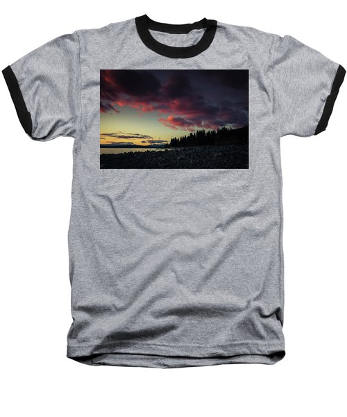 Lake Dreams Baseball T-Shirt by Jan Davies