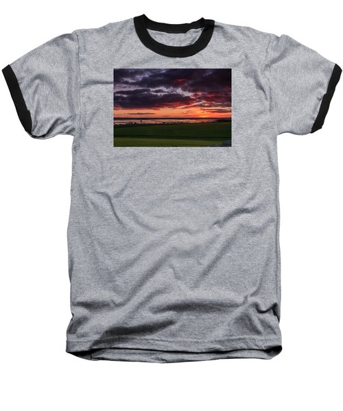 Lake Dumbleyung Sunset Baseball T-Shirt