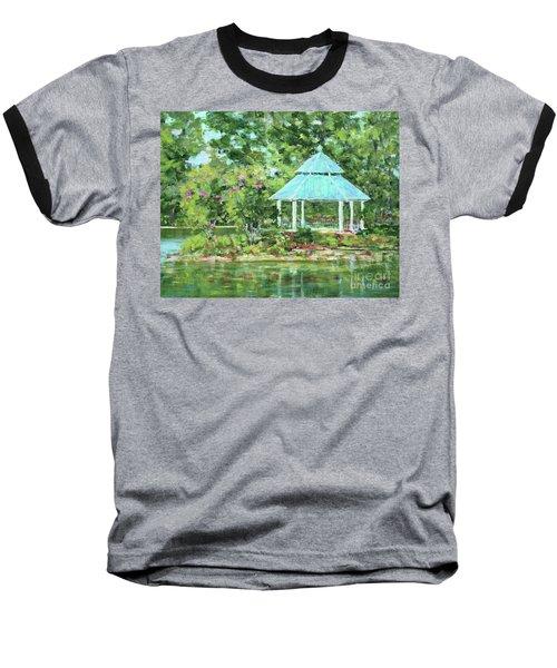 Lake Ella Gazebo Baseball T-Shirt