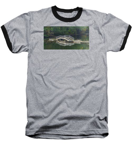 Baseball T-Shirt featuring the photograph Lake Fenwick by Jerry Cahill