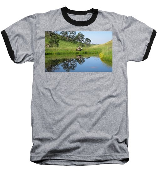 Lake Front Property Baseball T-Shirt
