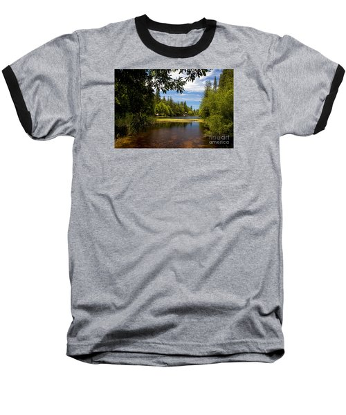 Lake Fulmor View Baseball T-Shirt by Ivete Basso Photography
