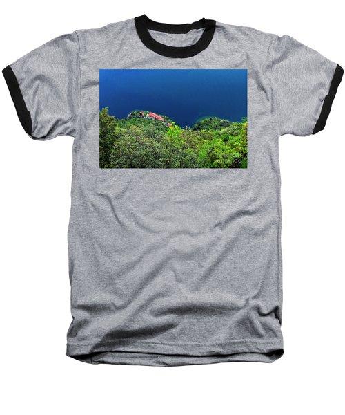 Lake Garda  Baseball T-Shirt by Maja Sokolowska