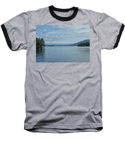Lake George Kayaker Baseball T-Shirt