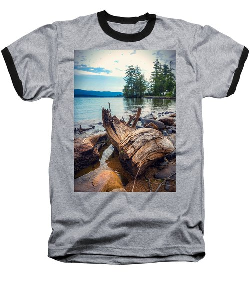 Lake George Palette Baseball T-Shirt