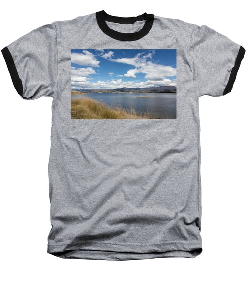 Lake Granby -- The Third-largest Body Of Water In Colorado Baseball T-Shirt by Carol M Highsmith