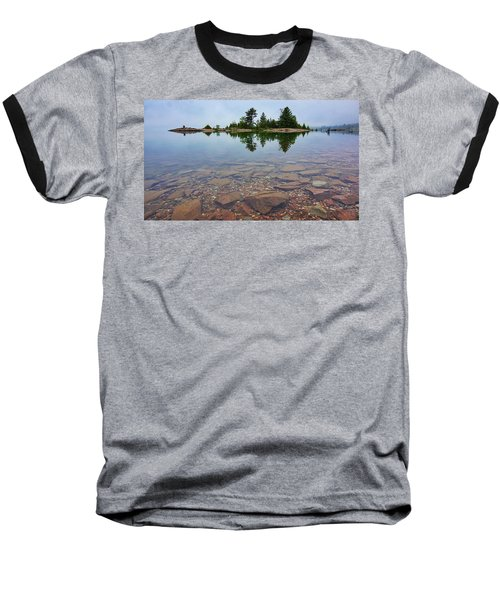 Lake Huron Island Baseball T-Shirt