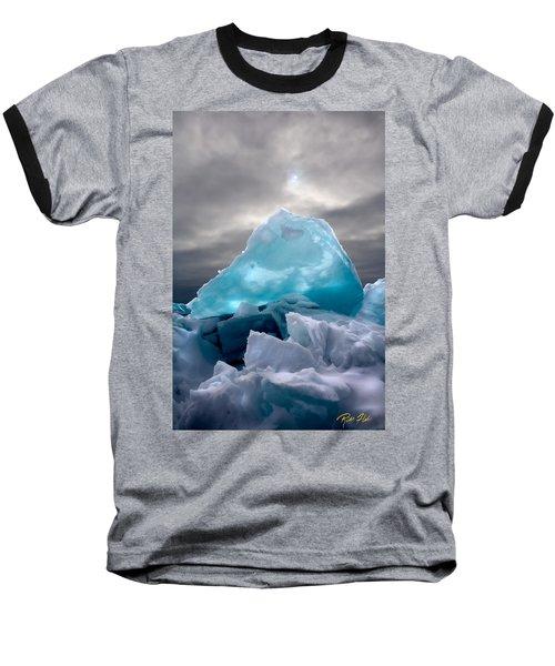 Lake Ice Berg Baseball T-Shirt
