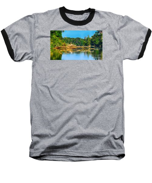 Lake In A Jungle Baseball T-Shirt
