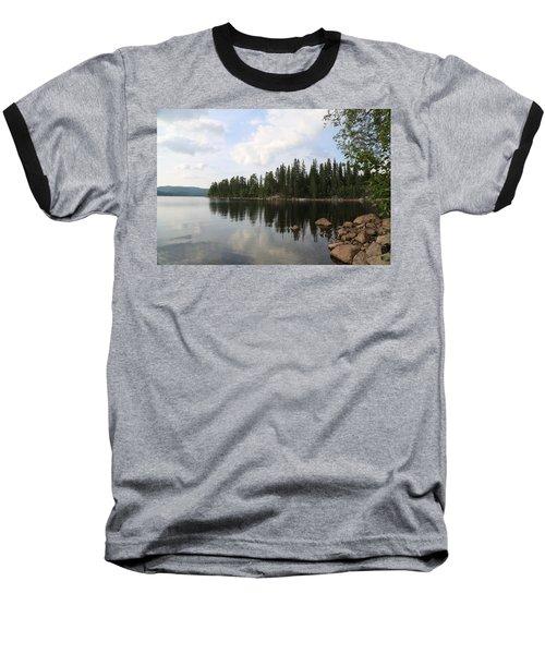Lake In The Woods Baseball T-Shirt