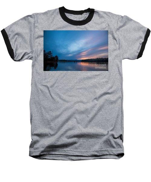 Lake James Portal Baseball T-Shirt by Robert Loe