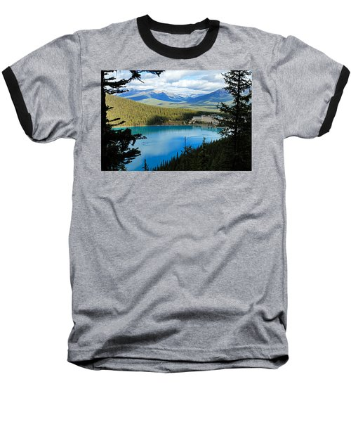 Lake Louise Chalet Baseball T-Shirt