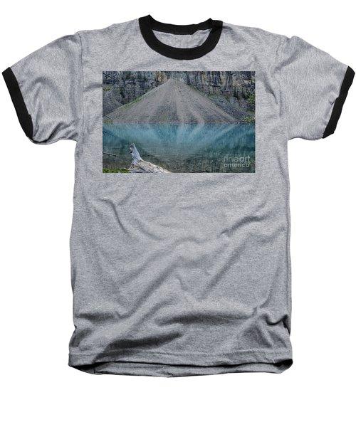 Lake Maligne Baseball T-Shirt