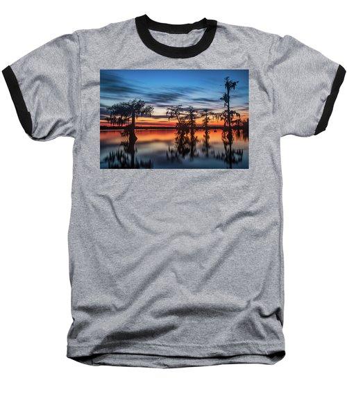 Lake Martin Sunset Baseball T-Shirt