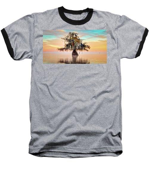 Lake Maurepas In Pastels Baseball T-Shirt