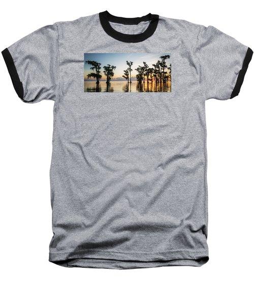 Lake Maurepas Sunrise Baseball T-Shirt