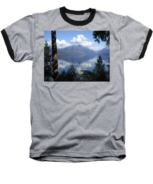 Lake Mcdonald Glacier National Park Baseball T-Shirt