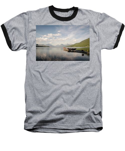 Lake Mcdonald Baseball T-Shirt