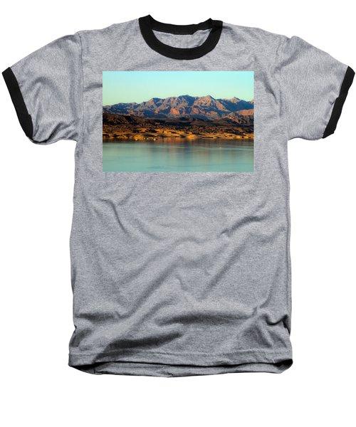 Lake Mead Before Sunset Baseball T-Shirt