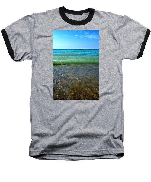 Lake Michigan Layers 2.0 Baseball T-Shirt