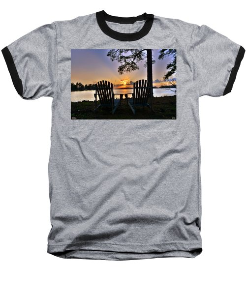 Lake Murray Relaxation Baseball T-Shirt
