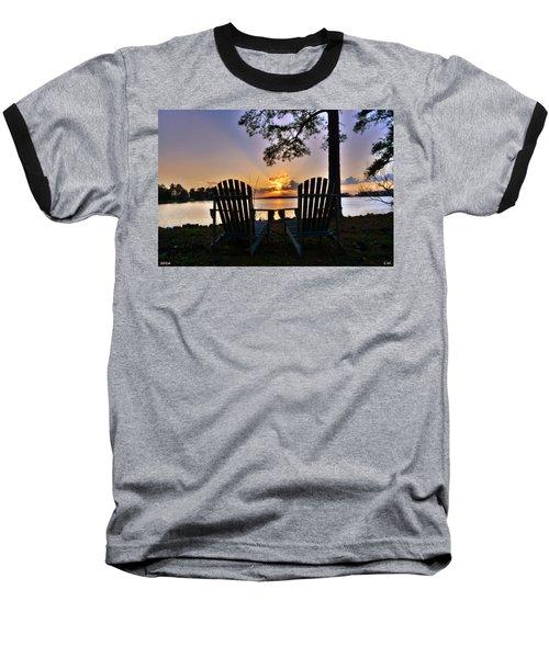 Lake Murray Relaxation Baseball T-Shirt
