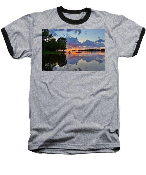 Lake Murray Sc Reflections Baseball T-Shirt