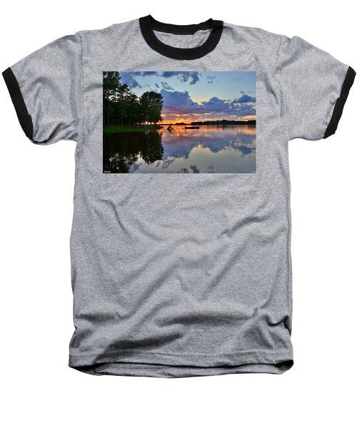 Lake Murray Sc Reflections Baseball T-Shirt