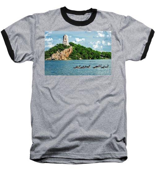 Lake Murray's Gaggle Of Geese Baseball T-Shirt
