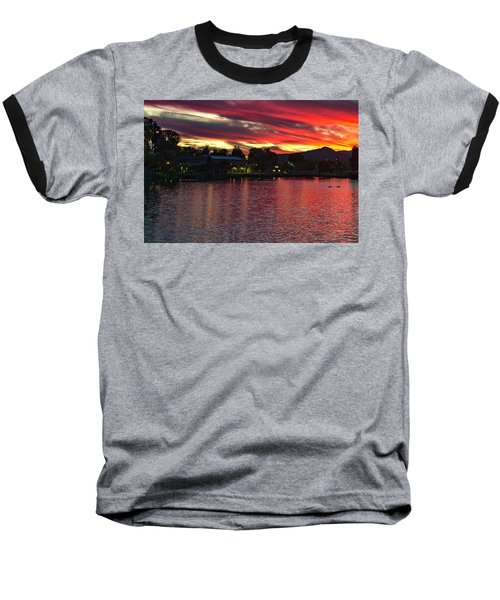 Lake Of Fire Baseball T-Shirt