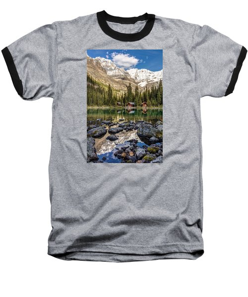 Lake O'hara Lodge Baseball T-Shirt