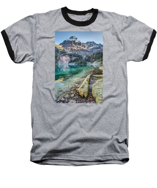 Lake O'hara Scenic Shoreline Baseball T-Shirt