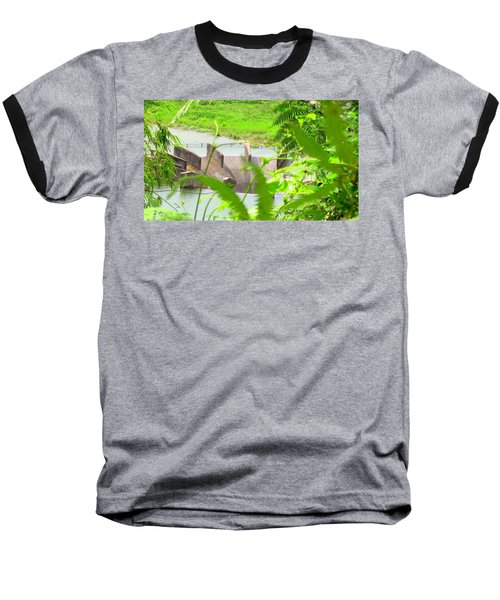 Lake Overflow Baseball T-Shirt