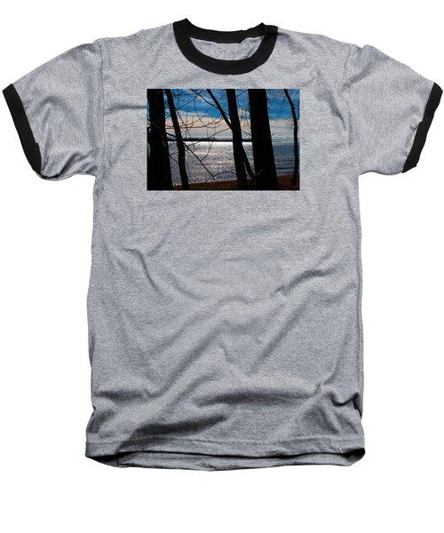 Baseball T-Shirt featuring the photograph Lake Romance by Valentino Visentini