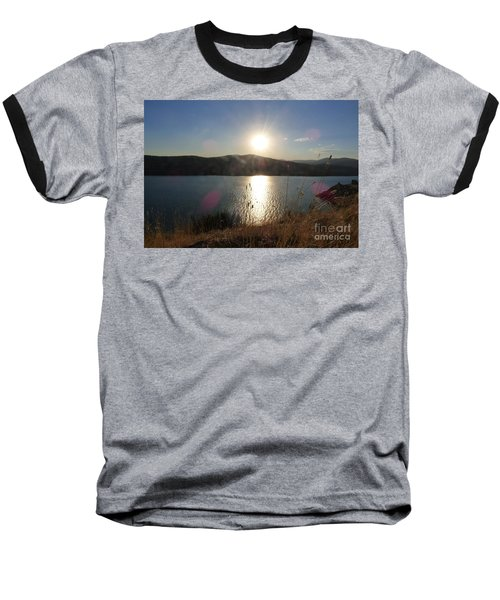 Lake Roosevelt Sun Baseball T-Shirt