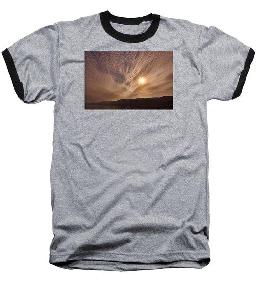 Lake Roosevelt Washington Baseball T-Shirt by Loni Collins