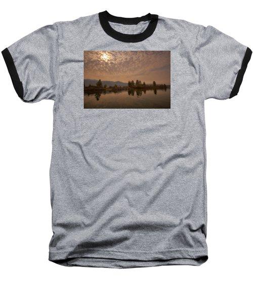 Lake Roosevelt Washington2 Baseball T-Shirt by Loni Collins