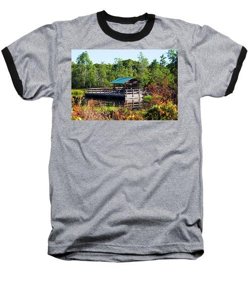 Lake Scene Baseball T-Shirt