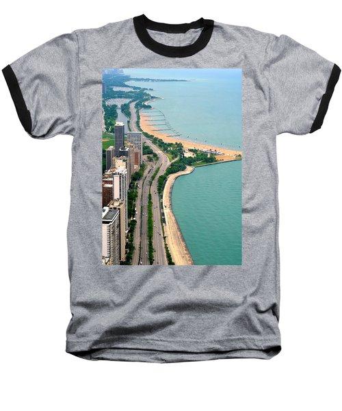 Lake Shore Dr . Chicago Baseball T-Shirt