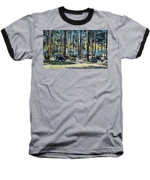 Lake Shore Park - Gilford N H Baseball T-Shirt