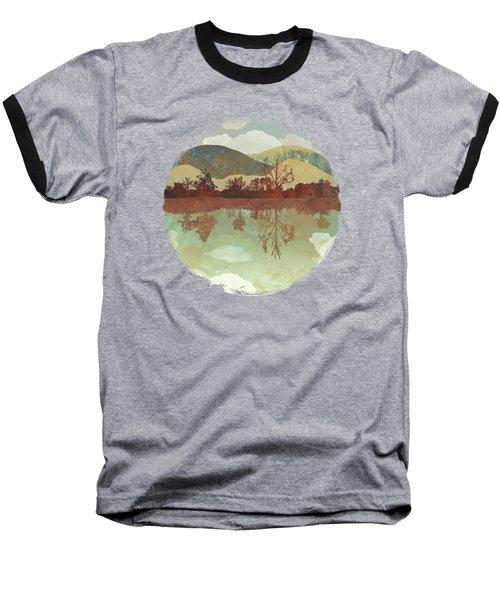 Lake Side Baseball T-Shirt by Spacefrog Designs