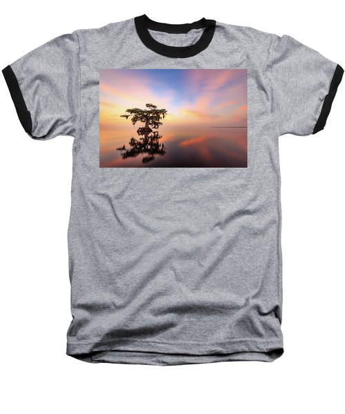 Lake Sunrise Baseball T-Shirt