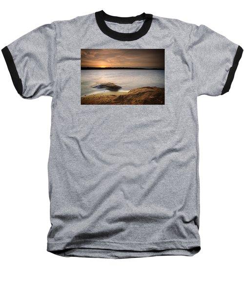 Lake Sunset I Baseball T-Shirt