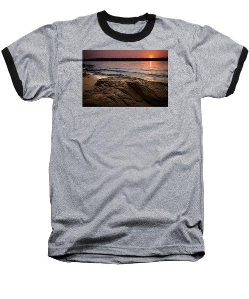 Lake Sunset Vi Baseball T-Shirt