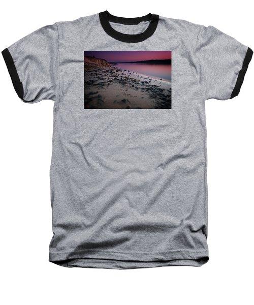 Lake Sunset Vii Baseball T-Shirt